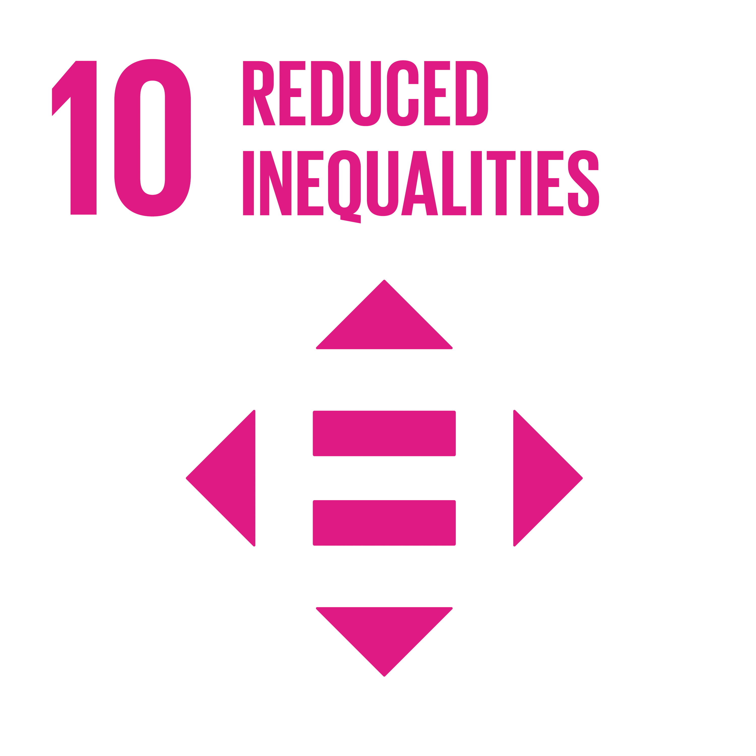Sustainable Development Goal 10 Icon