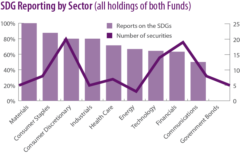 SDG Reporting By Sector