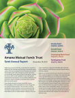 Amana Mutual Funds Trust Semi-Annual Report