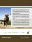 Idaho Tax-Exempt Fund Annual Report