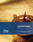 Investment Counsel Brochure