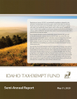Idaho Tax-Exempt Fund Semi-Annual Report