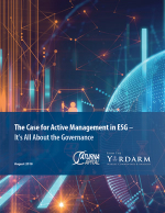 From The Yardarm - The Case for Active Management in ESG